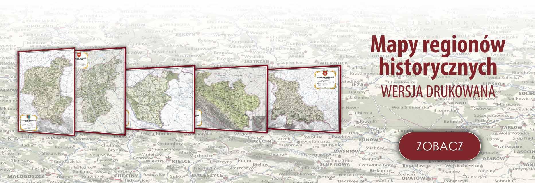 Mapy regionów historycznych