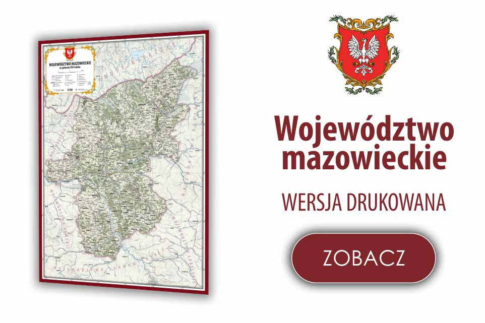 Województwo mazowieckie w poł.XVI w.
