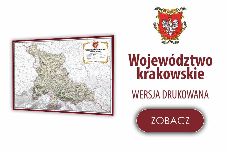 Województwo krakowskie w XVI w.